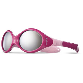Julbo Looping III Spectron 4 Sunglasses 2-4Y Kids crimson/pink-gray flash silver